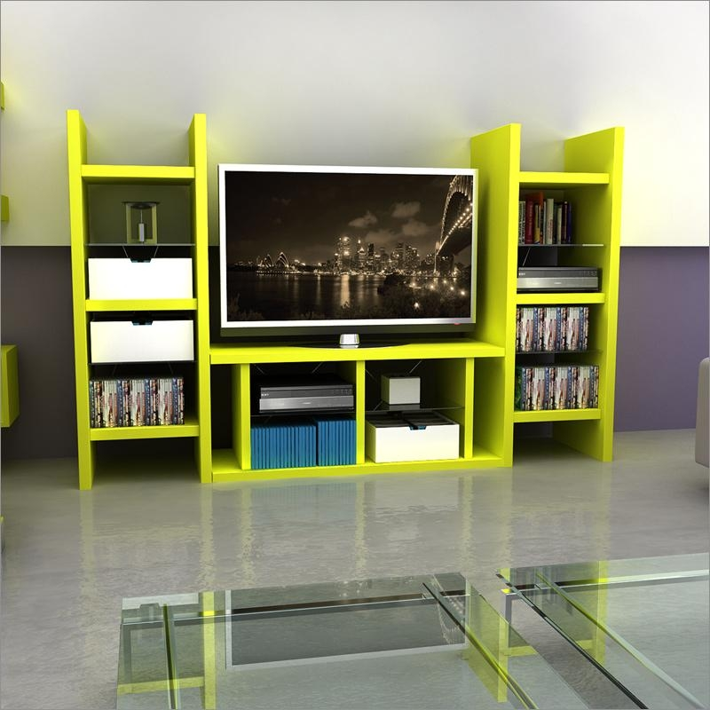 Solo Tv Stand Or Media Tower In Wild Limeatlantic 36835672 Throughout Best And Newest Green Tv Stands (Image 19 of 20)