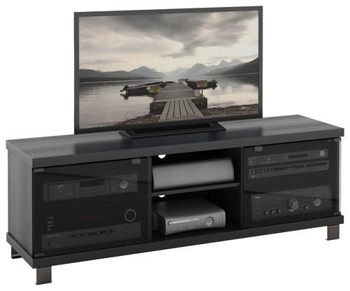 "Sonax Tv Stand For Tvs Up To 68"" Black Hc 5590 – Best Buy For 2017 Sonax Tv Stands (View 8 of 20)"