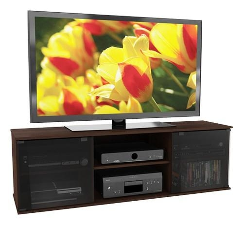 "Sonax Tv Stand For Tvs Up To 68"" Brown Fb 2607 – Best Buy Throughout Most Recently Released Sonax Tv Stands (Image 15 of 20)"