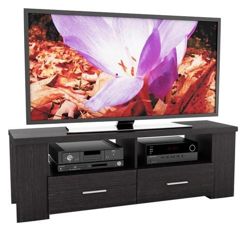 "Sonax Tv Stand For Tvs Up To 70"" Black B 101 Rbt – Best Buy Pertaining To Newest Sonax Tv Stands (View 11 of 20)"