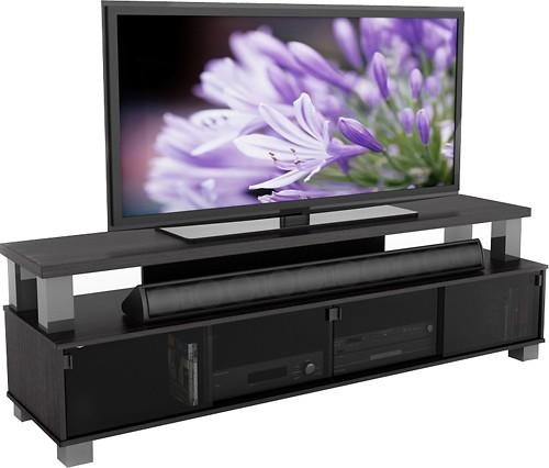 "Sonax Tv Stand For Tvs Up To 80"" B 003 Rbt – Best Buy Within Most Recent 80 Inch Tv Stands (Image 18 of 20)"