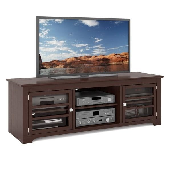 Sonax West Lake Wood Dark Espresso 60 Inch Entertainment Center Regarding Most Current Sonax Tv Stands (Image 20 of 20)