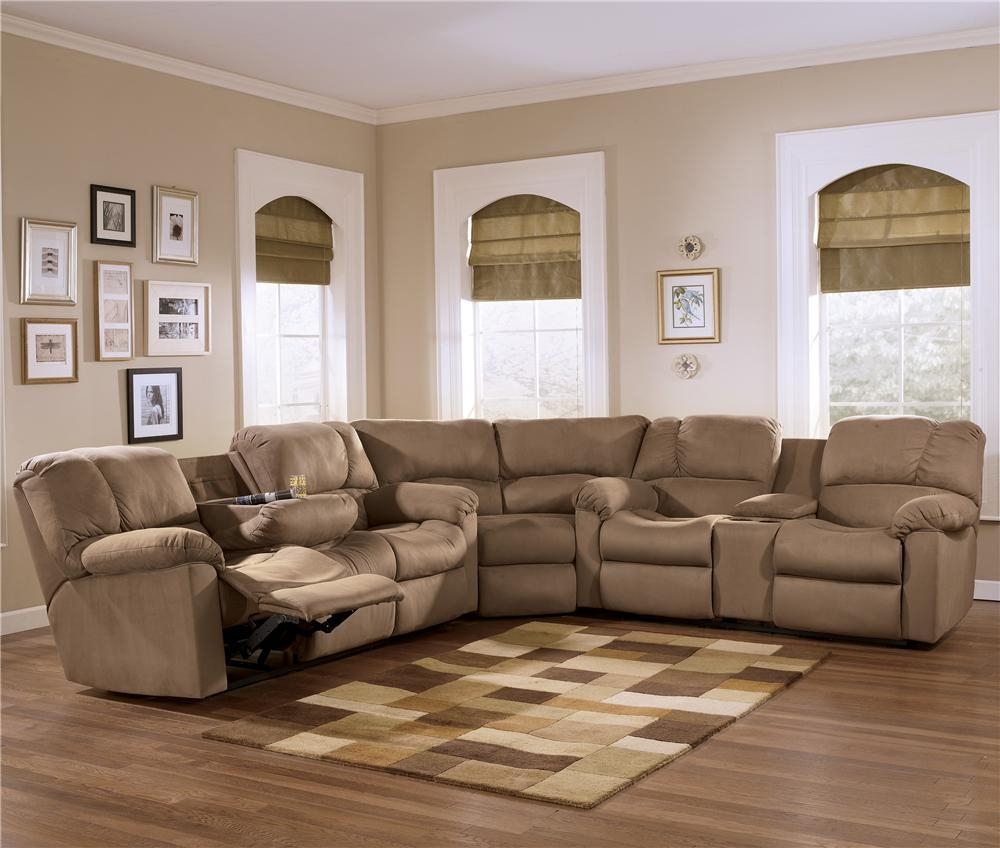 Sophisticated Sectional Sofa With Recliner Within Sectional Sofa Recliners (Image 19 of 20)