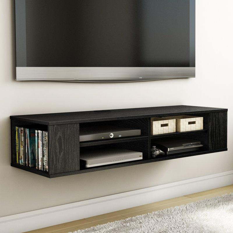 South S City Life 48 Floating Tv Stand Reviews Wayfair Inside Most Up