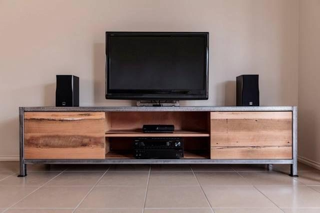 Special House Decoration With Rustic Industrial Furniture | Styles Regarding Most Up To Date Industrial Tv Cabinets (Image 18 of 20)