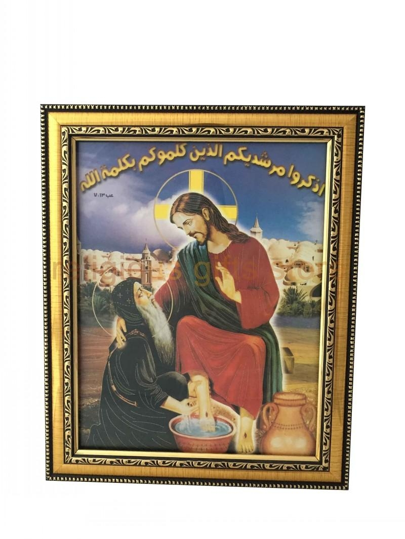 Splendid Christian Wall Hangings Uk Rectangle Frame Christian Wall With Christian Framed Wall Art (View 6 of 20)