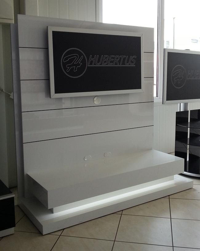 Standing Panorama Lux White Tv Stand Inside Recent Panorama Tv Stands (View 4 of 20)