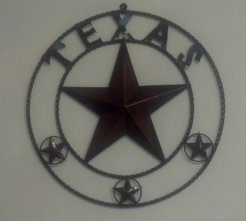Star Texas Metal Art | Westwood Pavillion In Texas Star Wall Art (Image 4 of 20)