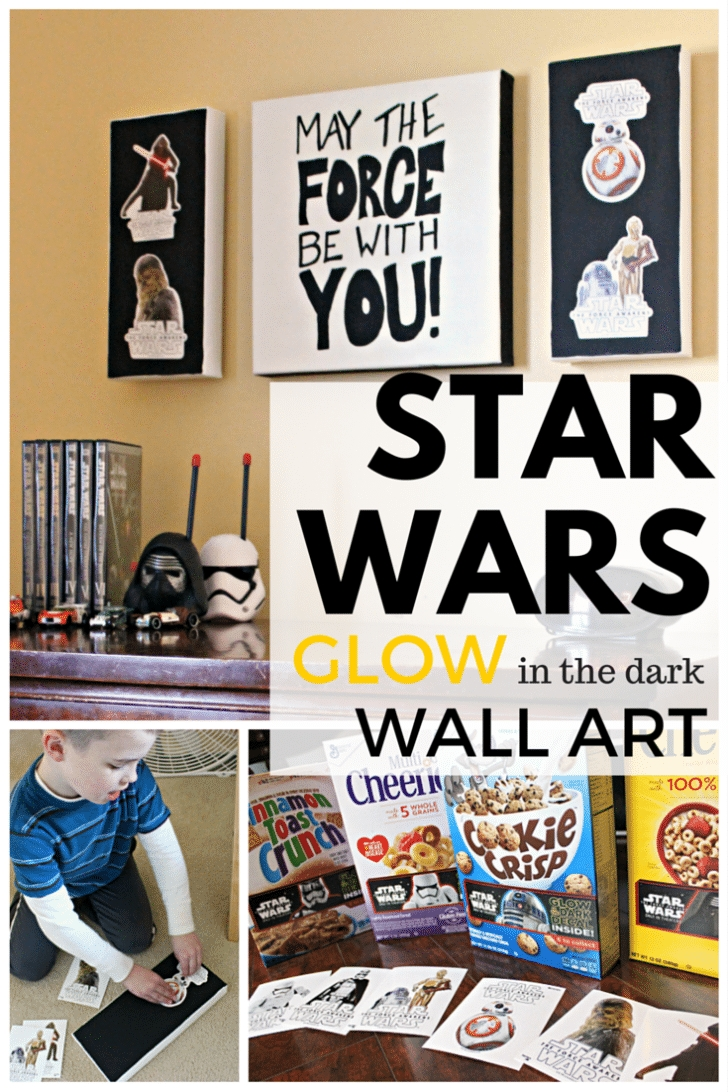 Star Wars Wall Art – Simple Recipes, Diy Tutorials, & Farmhouse Inside Diy Star Wars Wall Art (View 11 of 20)