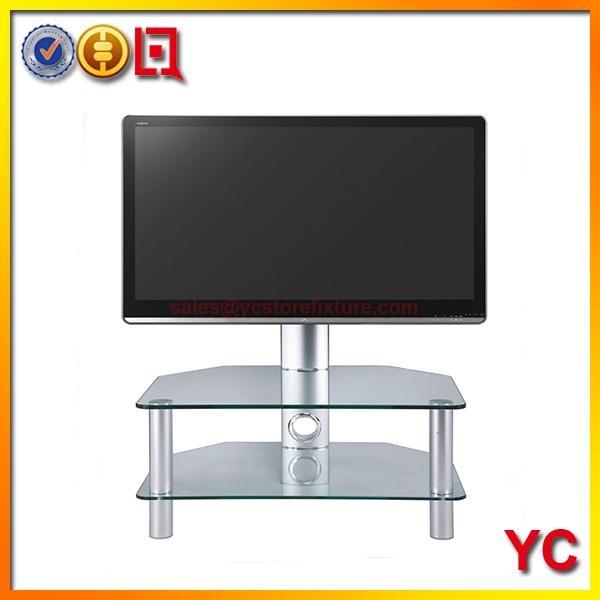 Stil Stand Stuk 2052 Clear Glass Tv Stand For Plasma Led Lcd Tv Up Regarding Recent Stil Tv Stands (Image 7 of 20)