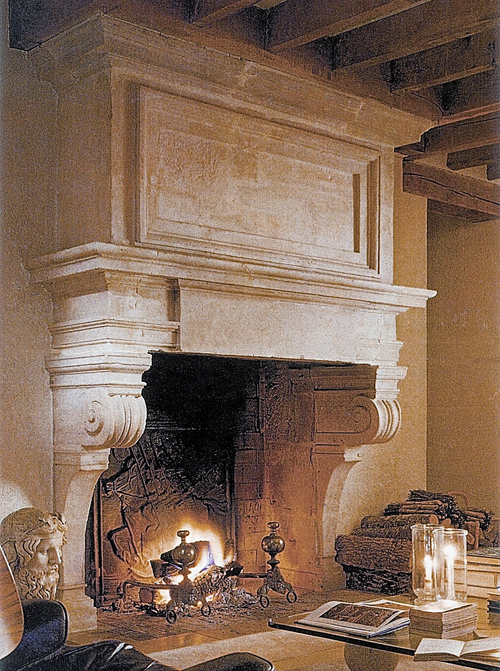 Stone Age Designs' Fireplace Mantels Recreate An Italian In Italian Stone Wall Art (View 9 of 20)