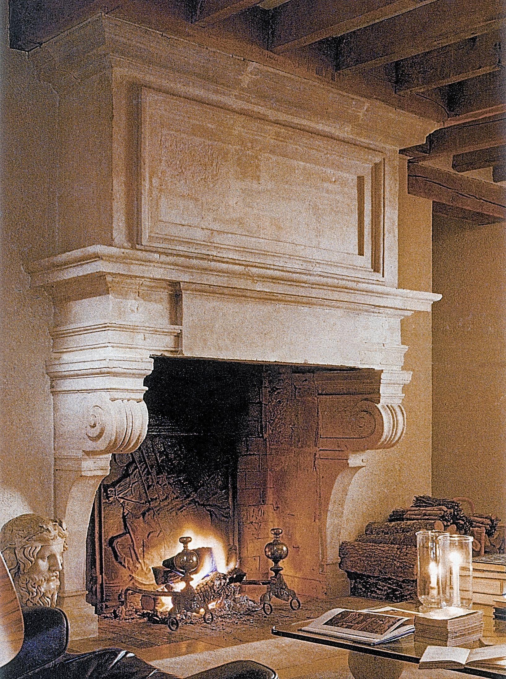Stone Age Designs' Fireplace Mantels Recreate An Italian In Italian Stone Wall Art (Image 18 of 20)