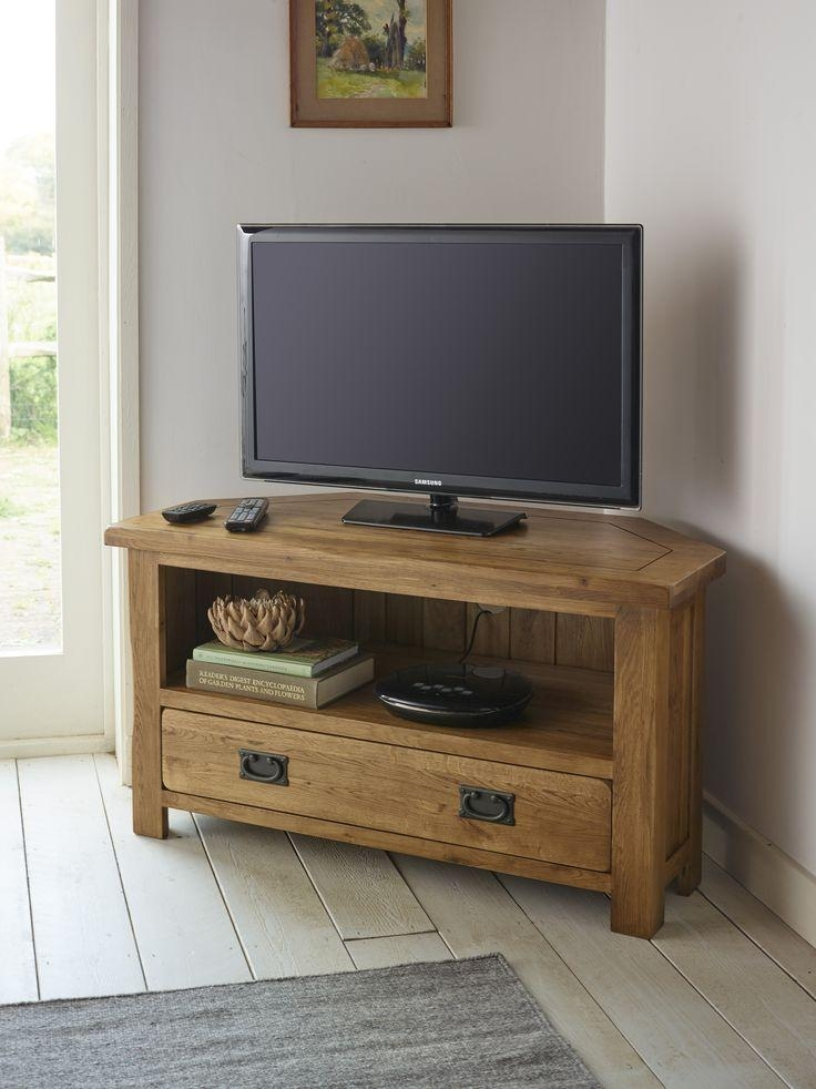 Storage Cabinets Ideas : Corner Tv Stand Designs Choosing The Intended For Current Corner Wooden Tv Cabinets (View 18 of 20)