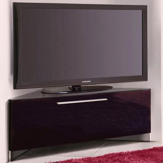 Featured Photo of Black High Gloss Corner Tv Unit