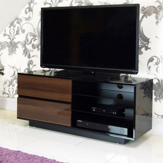 Store – Black Gloss Furniture Regarding Best And Newest Walnut And Black Gloss Tv Unit (Image 17 of 20)