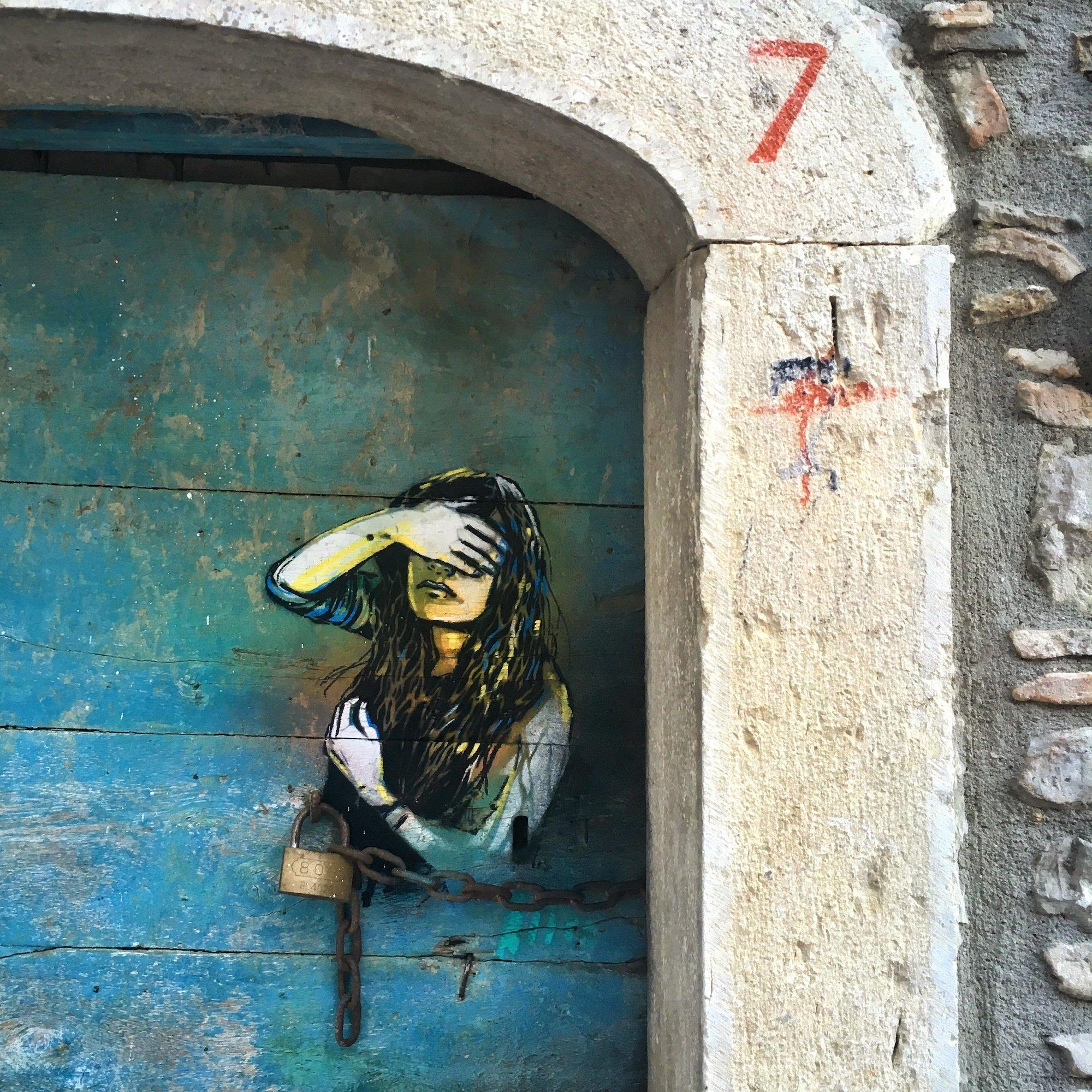 Street Art Brings Hope In A Small Italian Village That Resists In Italian Village Wall Art (View 11 of 20)