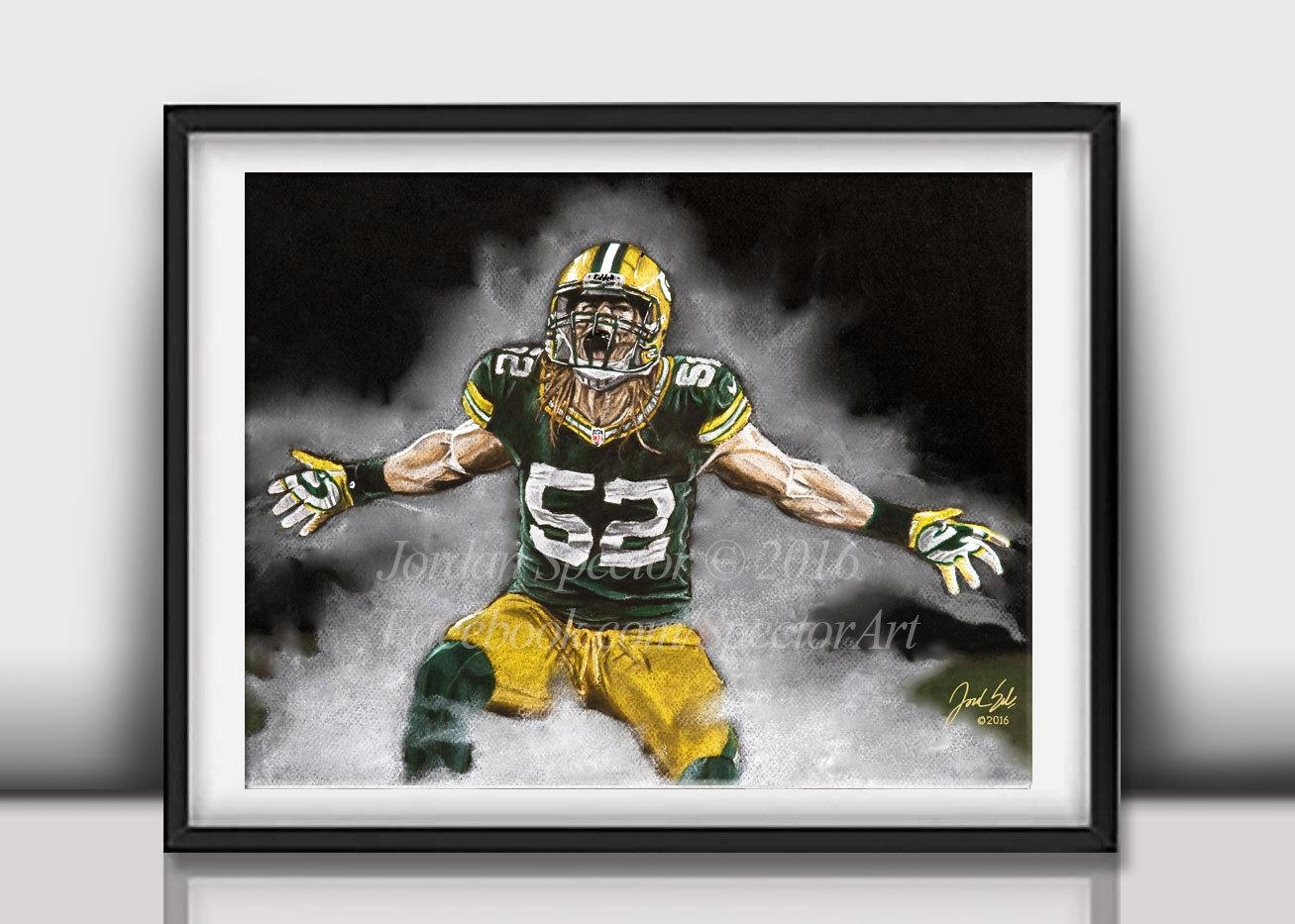 Stunning Decoration Green Bay Packers Wall Art Interesting Idea Within Green Bay Packers Wall Art (Image 18 of 20)