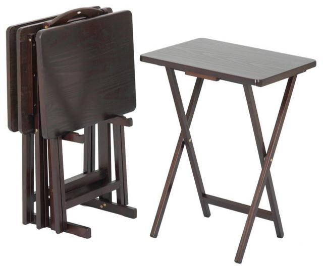 Stunning Folding Tv Tray Table The Best Folding Tv Tables In Most Current Folding Wooden Tv Tray Tables (View 11 of 20)