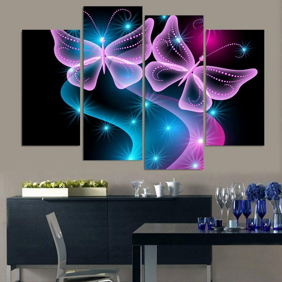 20 best collection of neon light wall art wall art ideas. Black Bedroom Furniture Sets. Home Design Ideas