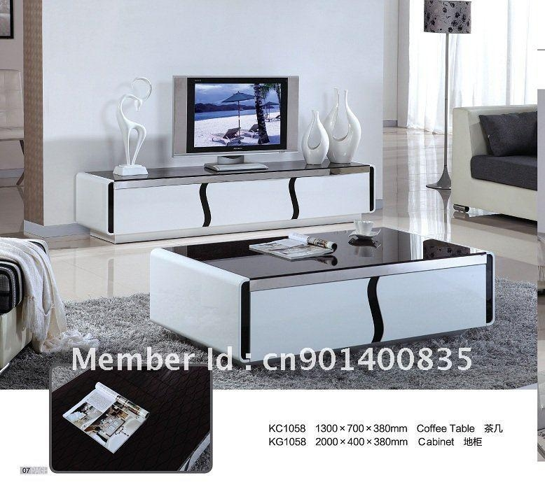 20 photos tv unit and coffee table sets tv cabinet and stand ideas. Black Bedroom Furniture Sets. Home Design Ideas