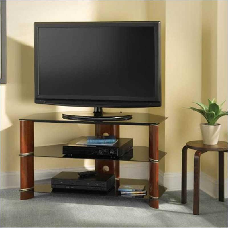 Stylish White Corner Tv Stands For Flat Screens Tv Stands Special Regarding Latest Tall Tv Stands For Flat Screen (View 14 of 20)
