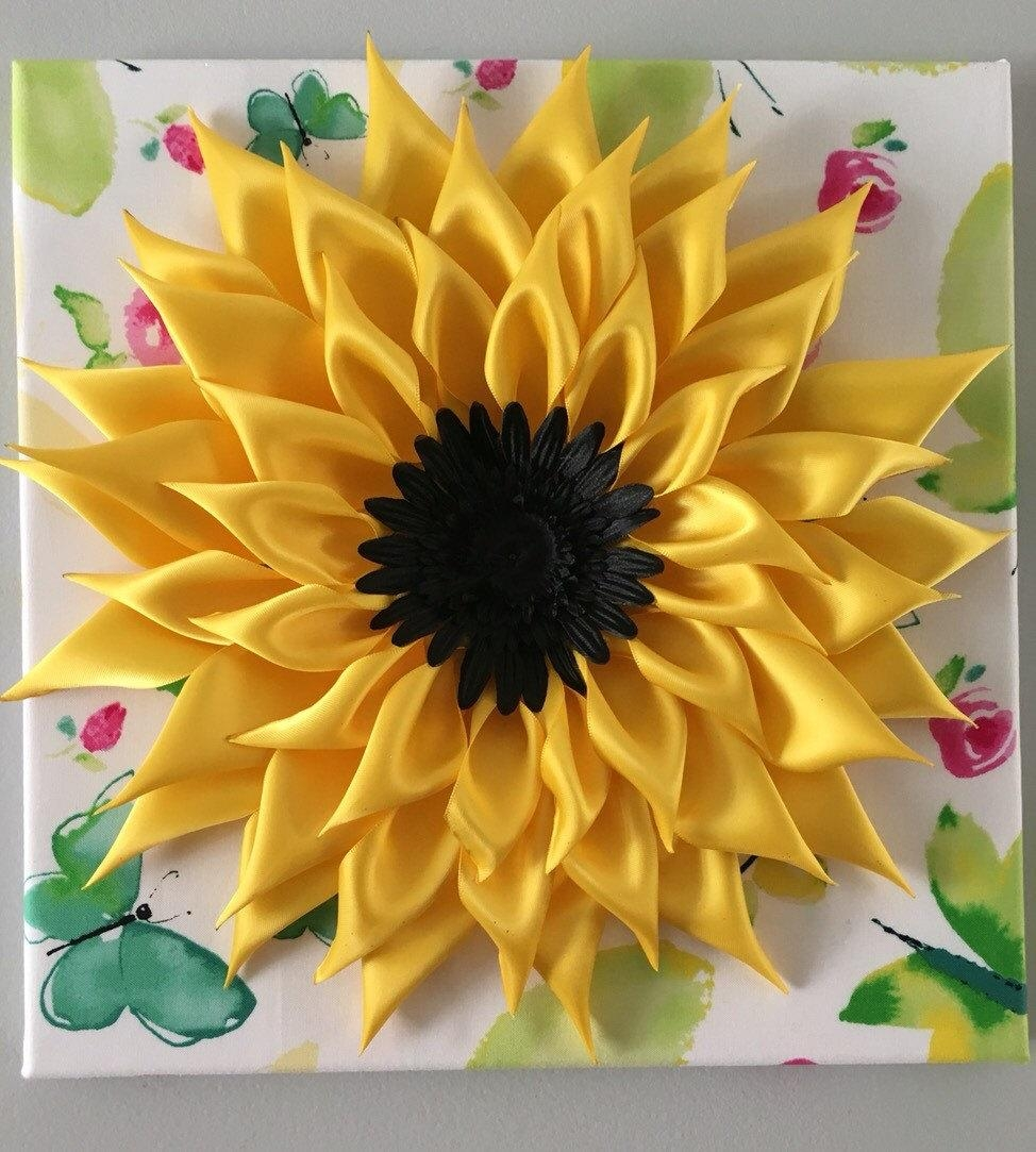 Sunflower Art Cool Sunflower Wall Decor – Home Decor Ideas With Metal Sunflower Wall Art (Image 8 of 20)