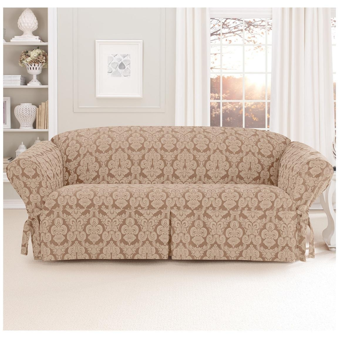 Sure Fit® Middleton Sofa Slipcover – 581237, Furniture Covers At Throughout Large Sofa Slipcovers (Image 22 of 23)