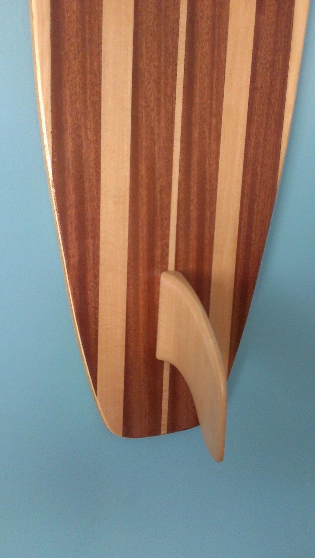 Surfboard Wall Art Wooden Wood Surf Art Beach Decor Within Surf Board Wall Art (Image 14 of 20)