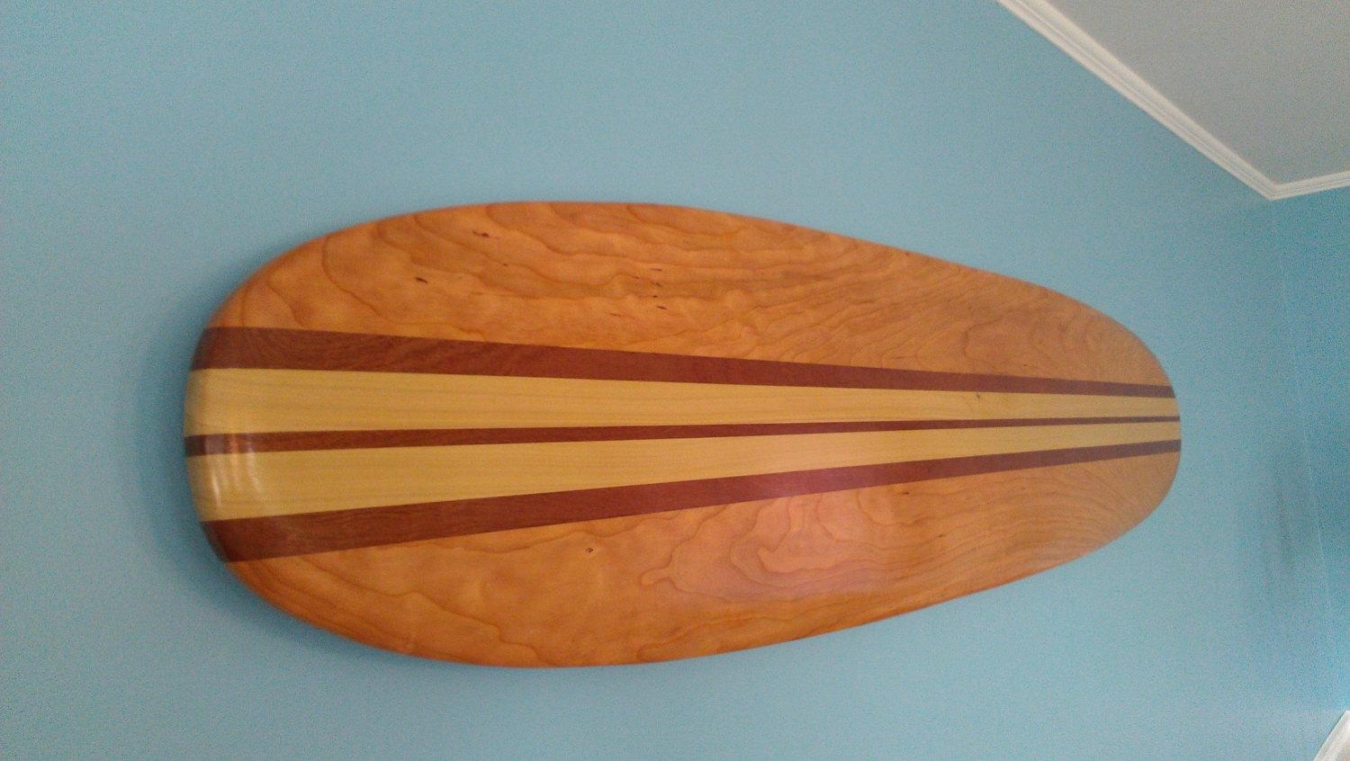 Surfboard Wall Hanging Art 6 Ft (Image 15 of 20)