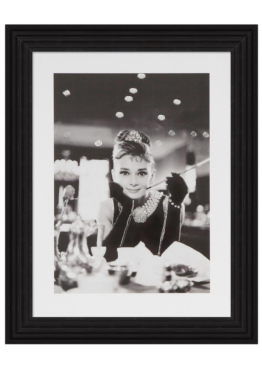 Swarovski Crystal Wall Art Exclusively At Pagazzi! – Pagazzi Blog With Glamorous Audrey Hepburn Wall Art (View 2 of 20)