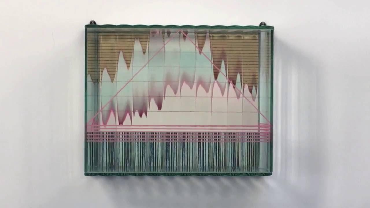Sydney Cash's Optically Kinetic Wall Sculpture 1986 87 – Youtube With Regard To Kinetic Wall Art (Image 14 of 20)