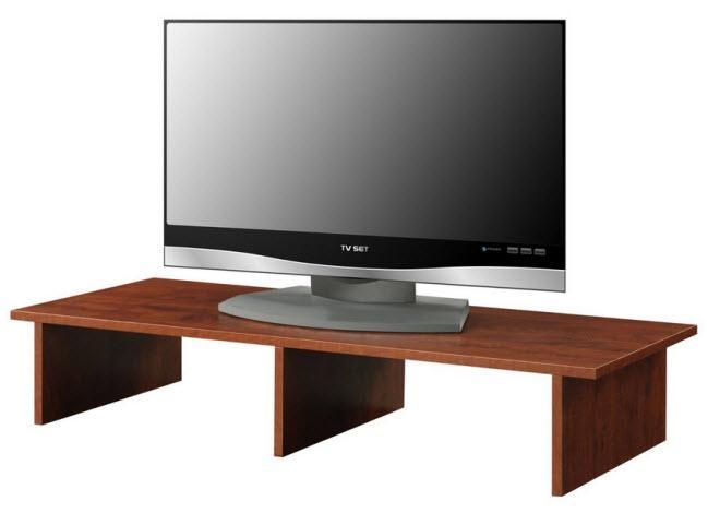 Tabletop Tv Stands – Thatsthestuff Regarding 2017 Tabletop Tv Stand (Image 12 of 20)