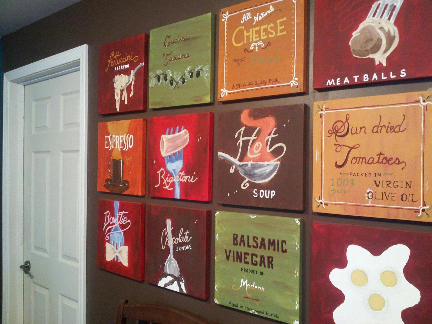 Tag For Paint Colors For Italian Bistro Kitchen : Amarone Italian With Italian Bistro Wall Art (View 4 of 20)