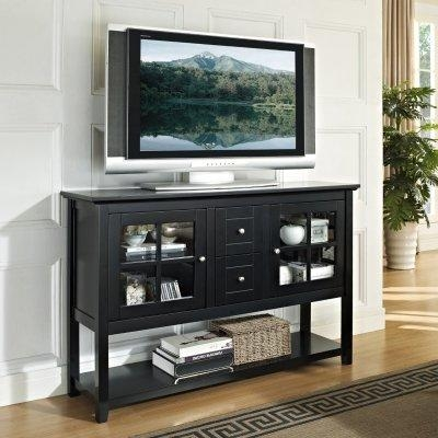 Tall Tv Console Cabinets | Innards Interior Within Recent Tall Black Tv Cabinets (Image 17 of 20)