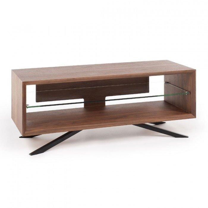 Techlink Aa110W Arena Walnut Tv Stand (406089) With Recent Techlink Arena Tv Stands (View 3 of 20)
