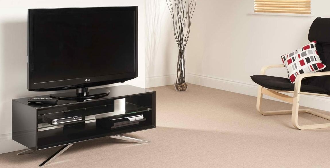 Techlink Black Arena Aa110B Tv Stand Gloss Frame | Live Well Stores Within Most Current Techlink Arena Tv Stands (View 5 of 20)
