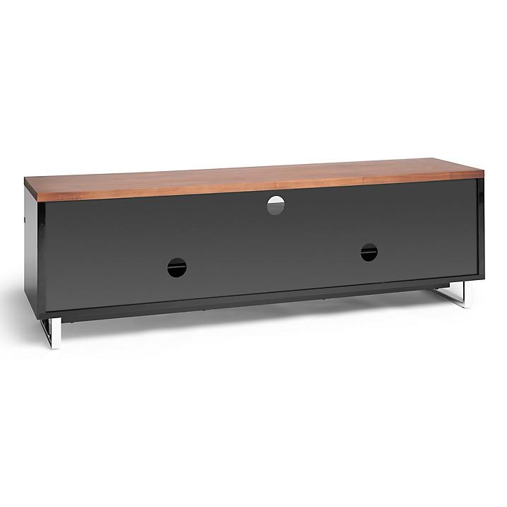Techlink Panorama Pm160 Tv Stand For Tvs Up To 80″ Walnut / Black Throughout Current Techlink Panorama Walnut Tv Stand (Image 4 of 20)