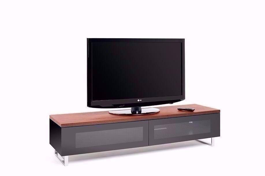 Techlink Panorama Pm160W Walnut Cabinet Tv Stand | In Leicester Throughout Most Popular Techlink Panorama Walnut Tv Stand (Image 10 of 20)