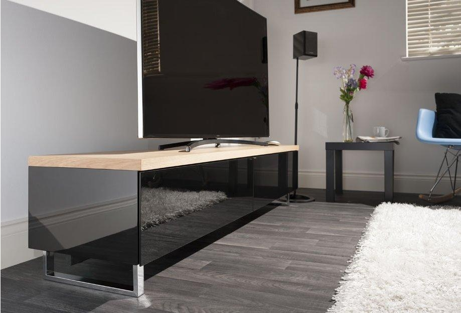 Techlink Pm160Lo Tv Stands Within 2017 Techlink Panorama Walnut Tv Stand (Image 16 of 20)