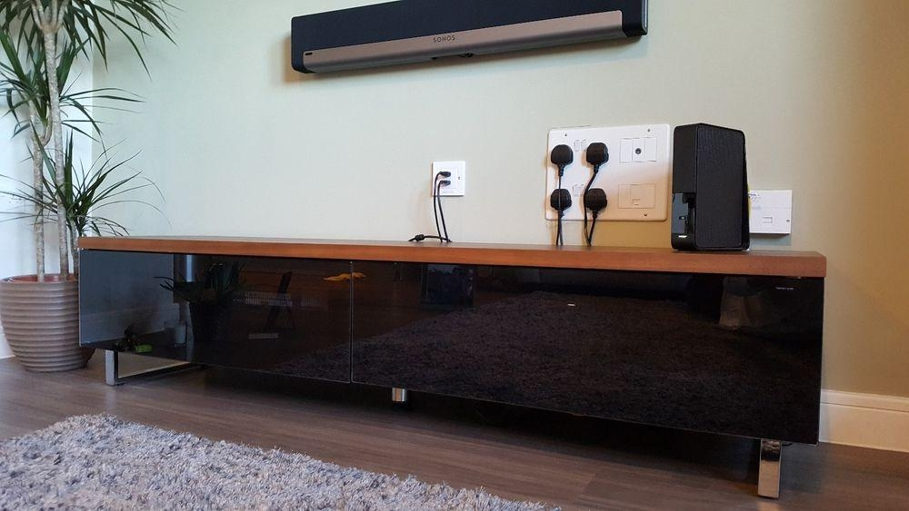 Techlink Tv Stand | Ebay Pertaining To Current Panorama Tv Stands (View 18 of 20)