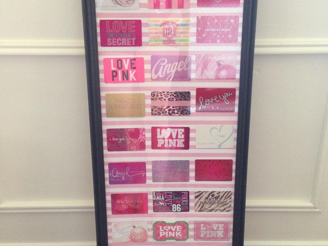 Teens Room Diy Decor For Pictures Regarding More Teenage Girl Within Victoria Secret Wall Art (View 2 of 20)