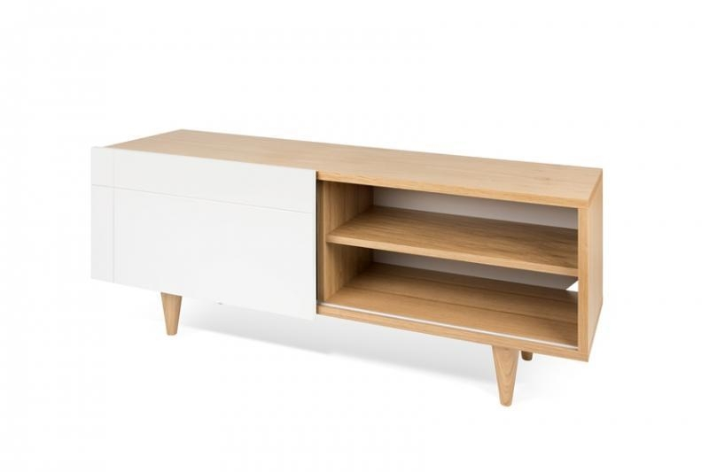 Temahome Cruz Tv Unit | Contemporary Furniture | Modern Living In Recent Oak Veneer Tv Stands (View 5 of 20)