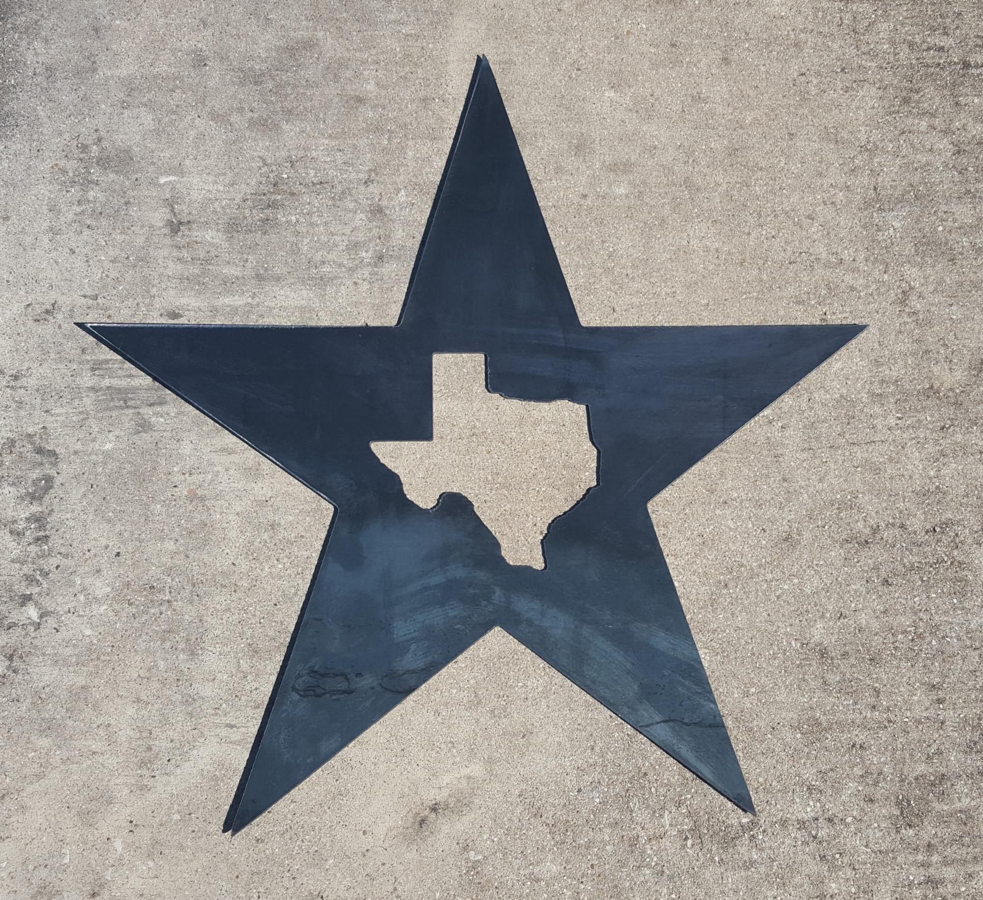 Texas Star Metal Wall Art | Blue Collar Welding Llc Regarding Texas Star Wall Art (View 8 of 20)