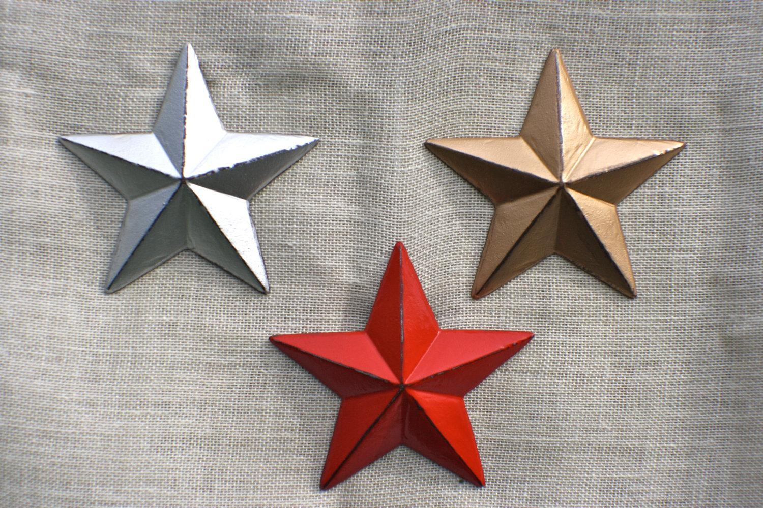 Star Wall Decor Ideas: 20 Photos Texas Star Wall Art