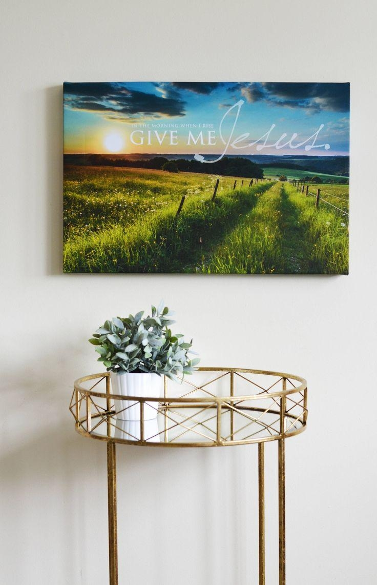 The 25+ Best Christian Wall Art Ideas On Pinterest | Christian Art For Christian Wall Art Canvas (View 17 of 20)