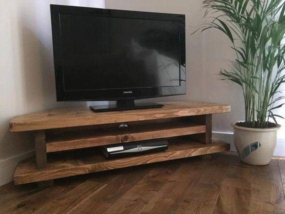 The 25+ Best Corner Unit Tv Stand Ideas On Pinterest Within Most Popular Rustic Oak Tv Stands (View 20 of 20)