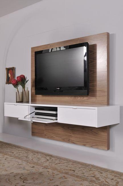The 25+ Best Floating Tv Unit Ideas On Pinterest | Floating Tv With Most Current Low Level Tv Storage Units (View 11 of 20)