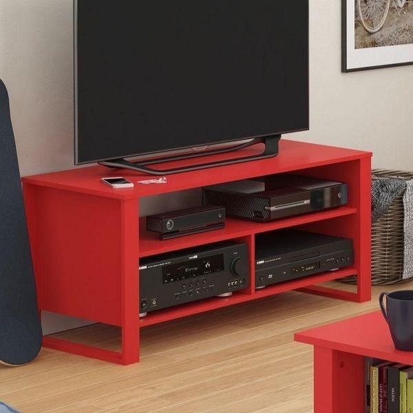 The 25+ Best Red Tv Stand Ideas On Pinterest | Refinishing Wood For Newest Black And Red Tv Stands (Image 16 of 20)