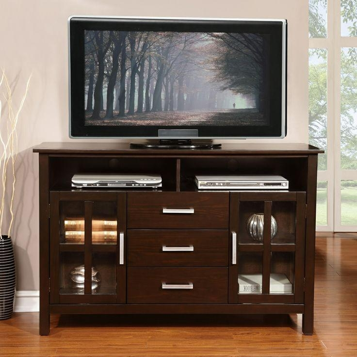 The 25+ Best Tall Tv Stands Ideas On Pinterest | Tall Inside Most Recent Walnut Corner Tv Stands (Image 18 of 20)