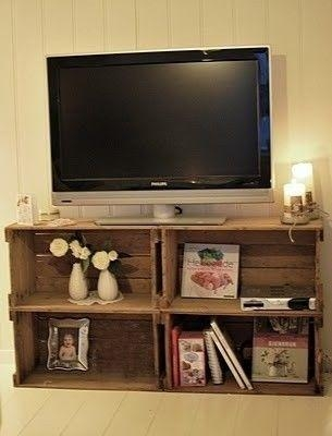 The 25+ Best Unique Tv Stands Ideas On Pinterest | Diy Album Inside Newest Unique Tv Stands (View 17 of 20)